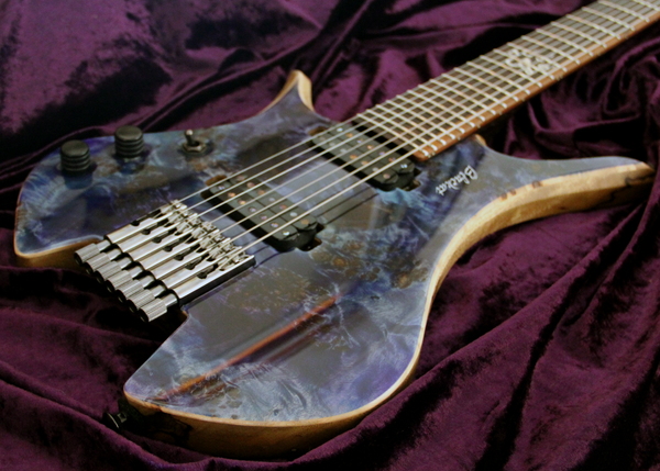 Blackat Guitars. HDA 7 String Multiscale Headless. #5