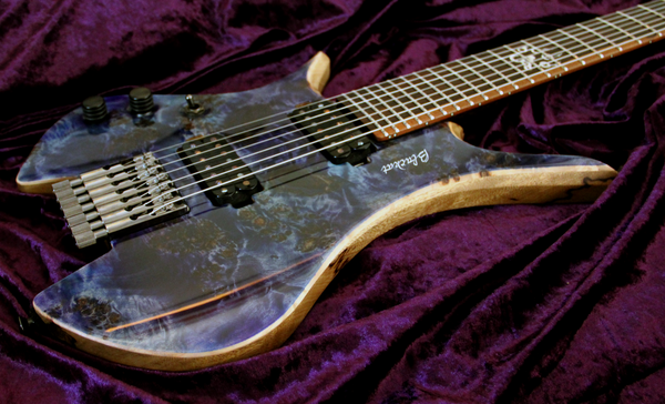 Blackat Guitars. HDA 7 String Multiscale Headless. #3