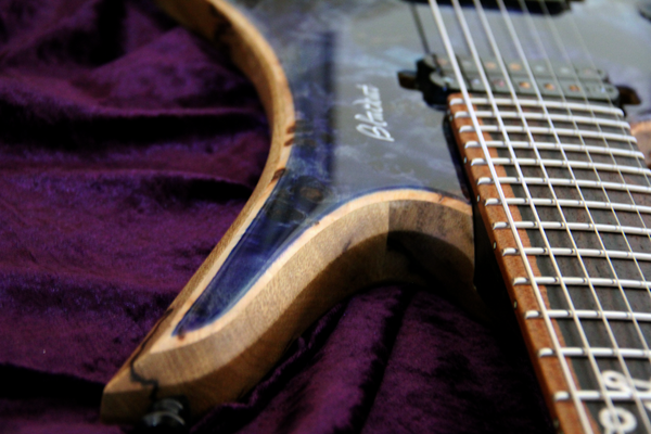 Blackat Guitars. HDA 7 String Multiscale Headless. #13
