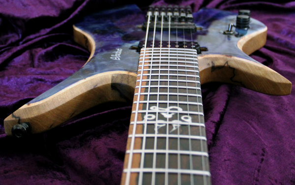 Blackat Guitars. HDA 7 String Multiscale Headless. #7