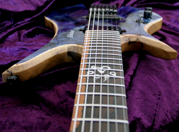 Blackat Guitars. HDA 7 String Multiscale Headless. #11