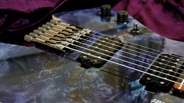 Blackat Guitars. HDA 7 String Multiscale Headless. #6