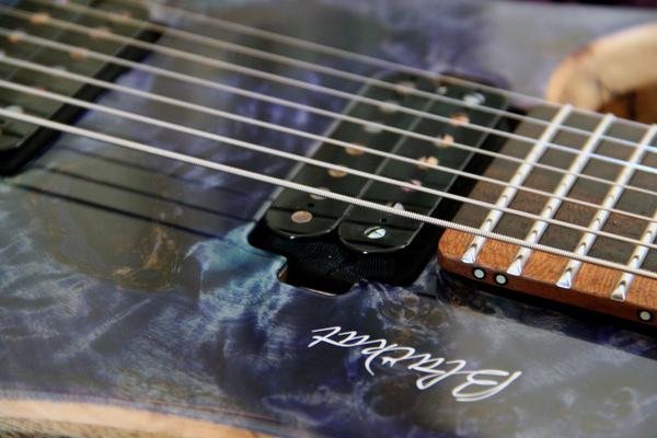 Blackat Guitars. HDA 7 String Multiscale Headless. #14