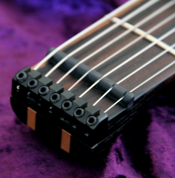 Blackat Guitars. HDA 7 String Multiscale Headless. #9