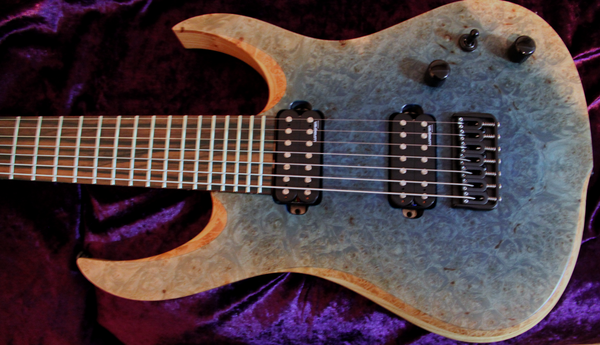 RAN Crusher 7 String Custom Electric Guitar. 7