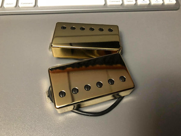 The Guitarmory. Gold Bar Cover guitar pickups.