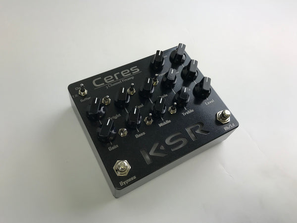 KSR: Ceres Guitar Pedal Preamp. In Stock Ready to ship.