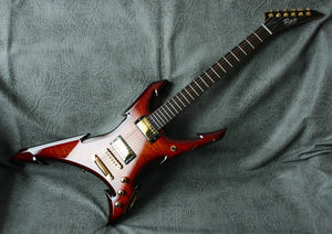 Ran Guitars: Warrior Extreme Custom 6 string: 5A Quilted Maple Over Mahogany