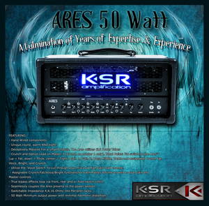 KSR Ares Custom Hand Wired Amplifier