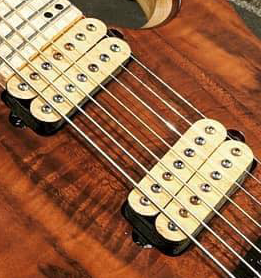 The Guitarmory. Maple Bobbin guitar pickups.