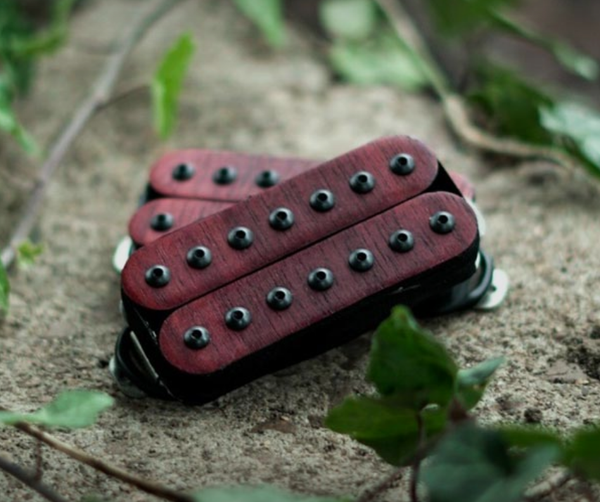 The Guitarmory. Paduak Bobbin Guitar Humbucker pickup.
