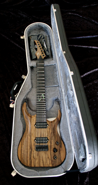 Skervesen: Raptor 7: Black Limba Over Serbian Willow Body Electric Guitar