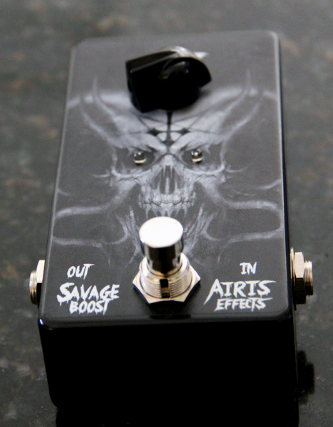 Airis Effects: Savage Boost, Guitar Effects Pedal