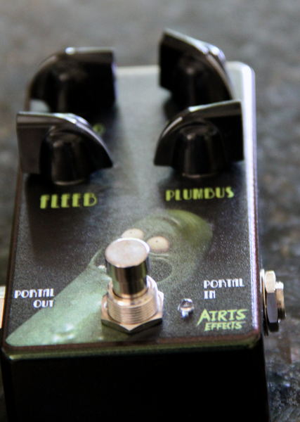 Pickle Rick  OD: (Discontinued) High Quality Hand Made Boutique Airis Effects Overdrive Unit.