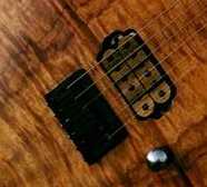 The Guitarmory. Ebony Bobbin Guitar Humbucker pickup.