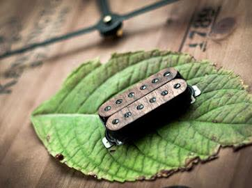 The Guitarmory. Walnut Bobbin Guitar Humbucker pickup.