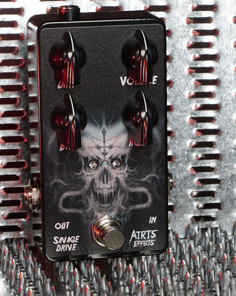Airis Effects: Savage Drive, Guitar Effects Pedal