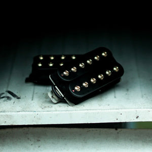 The Guitarmory. Black Bobbin Guitar Humbucker pickup.