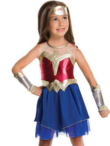 Wonder Woman Costume  PLUS Shield - Avengers Costume - Girls Costume