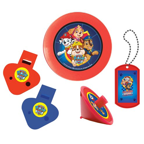 Favour Pack - Blue Paw Patrol Party