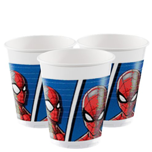 Cups - Spiderman Party