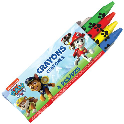 Crayons - Blue Paw Patrol Party