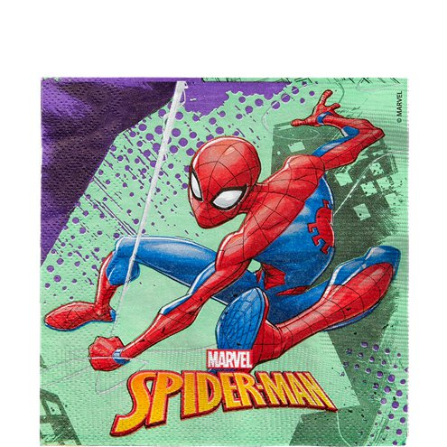Napkins - Spiderman Party