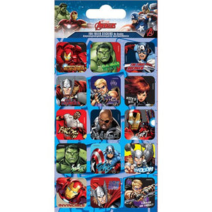 Foil Stickers - Avengers Party