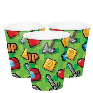 Cups - Game On Party  Supplies