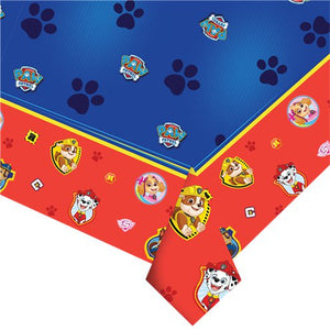 Table Cover - Blue Paw Patrol Party