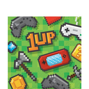 Napkins - Game On Party  Supplies