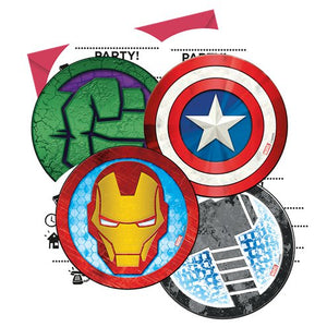Invitations - Avengers Party