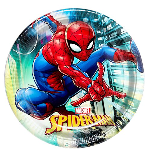 Plates - Spiderman Party