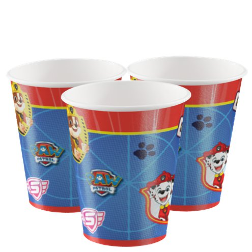 Cups - Blue Paw Patrol Party