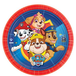 Plates - Blue Paw Patrol Party