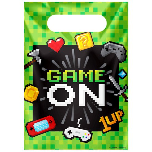 Party Bags - Game On Party  Supplies