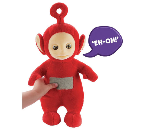 Teletubbies Talking Po Soft Toy - Teletubbies Toys
