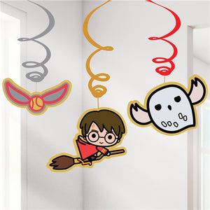 Hanging Swirls - Harry Potter Party Supplies