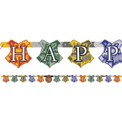 Letter Banner - Harry Potter Party Supplies
