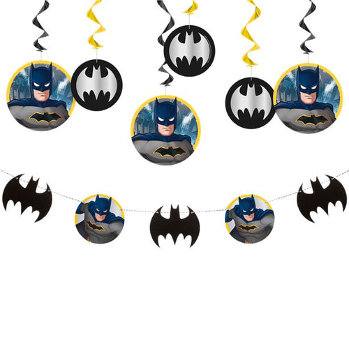 Batman Decorating Kit  (7 pk) - Batman Party Supplies