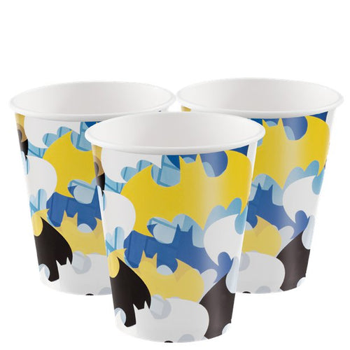 Batman Cups - Batman Party Supplies