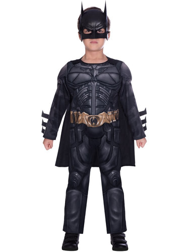 Batman Dark Knight Deluxe Muscle Chest - Boys Costume