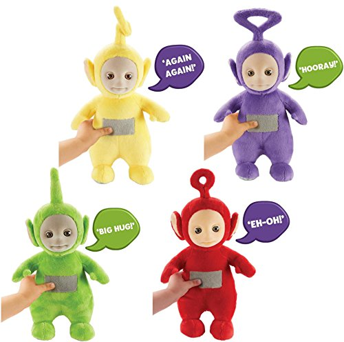 Set of Teletubbies Talking Soft Toys -Teletubbies Toys