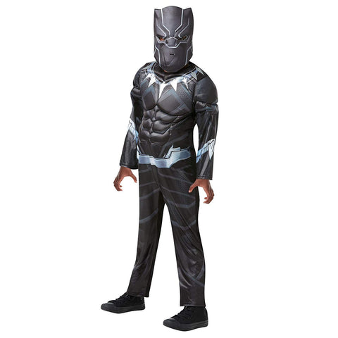 Black Panther Costume - DELUXE - Avengers Costume - Boys
