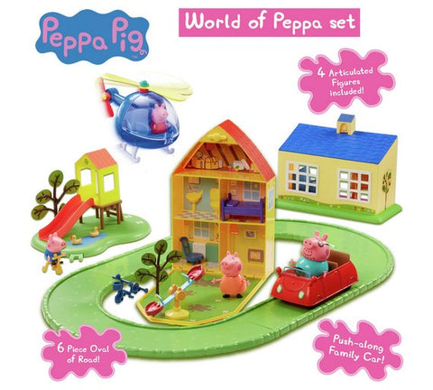 Peppa Pig World of Peppa Playset  - Peppa Pig Toys