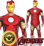 Deluxe Iron Man Costume - Avengers Costume - Men