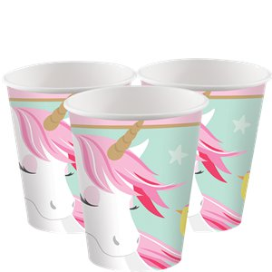 Cups - Unicorn Party Supplies