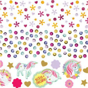 Table Confetti - Unicorn Party Supplies