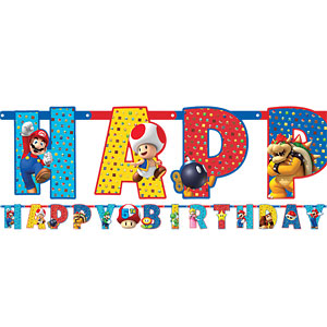 Banner - Mario Brothers Party