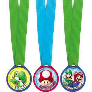Award Medals - Mario Brothers Party